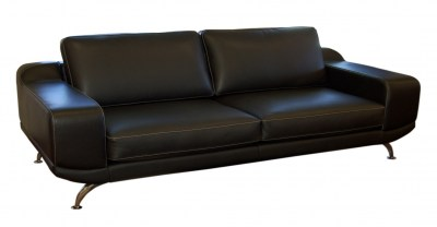 Art Novo Leather Sofa