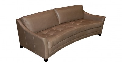 Avril Leather Sofa