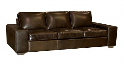 Ballard Leather Sofa