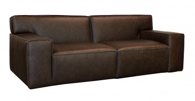 Monique Leather sofa